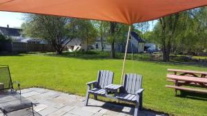 Penobscot School Rental Space Backyard