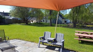 Penobscot School Rental Space Backyard